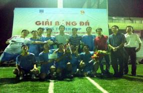 PVU vô địch giải bóng đá